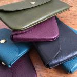 イタリア革の長財布がひさびさに登場。