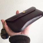 私の長財布の経年変化の様子(エイジング)です。