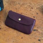 イタリア革の長財布へのご感想をいただきました。