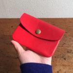 革財布再販&雑貨11/30までです。長財布ブルーまめ財布レッド入荷しています。