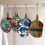 関美穂子型絵染めの色々展(松江市)の布雑貨制作しました。
